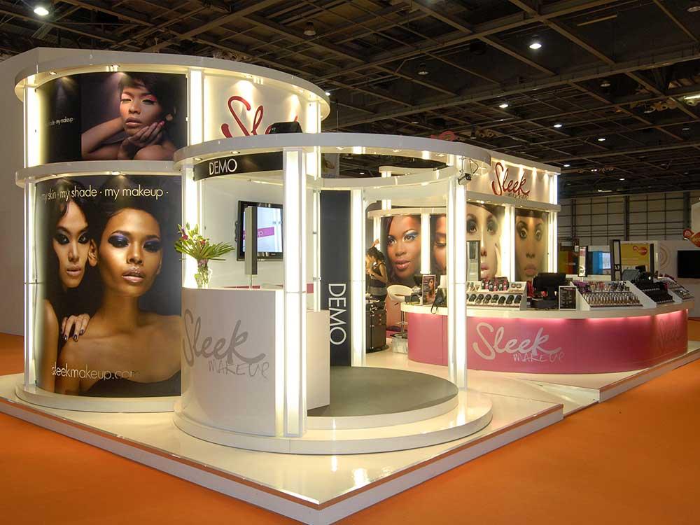 flexible modular exhibition stands